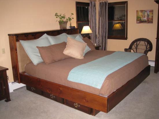Estes Park Bed & Breakfast: Bedroom