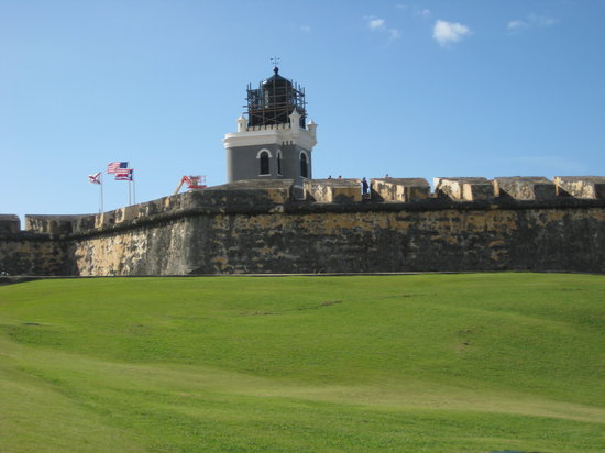 San Juan, Puerto Rico: El  Morro Fort...majestic