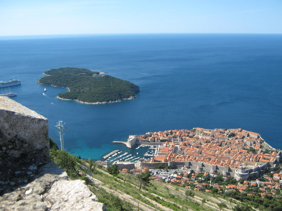 Dubrovnik, Croatie : old town 