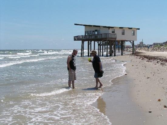 Surfside Beach, TX: See house over water