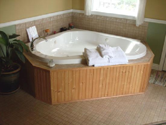 Black Dog Inn: Wonderful jacuzzi - used every night!