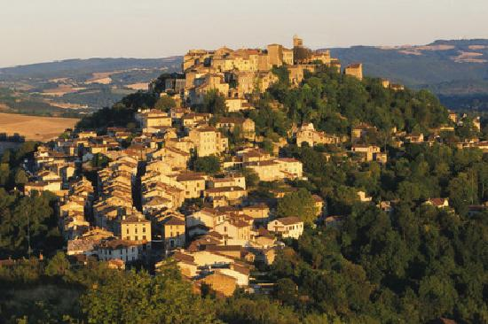 Tarn, France : Cordes sur Ciel - village fortifi 