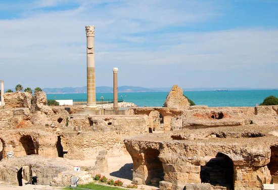 Port El Kantaoui, Tunisien: Carthage