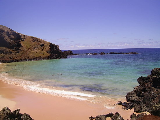 Easter Island, Chile: Playa Ovahe