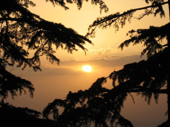 Sunset in Shimla