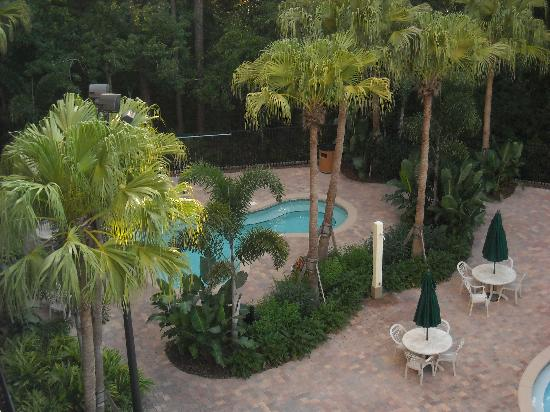 Vacation Village at Parkway: Hot tub from 5th floor