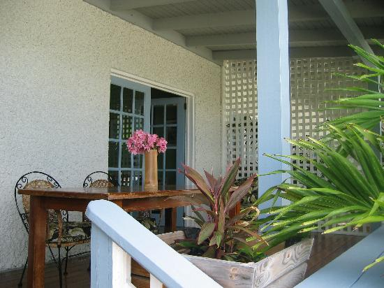 Bequia Beachfront Villas: 1 Bedroom Porch