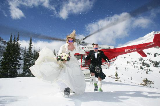 Banff Caribou Lodge & Spa : An amazing wedding venue