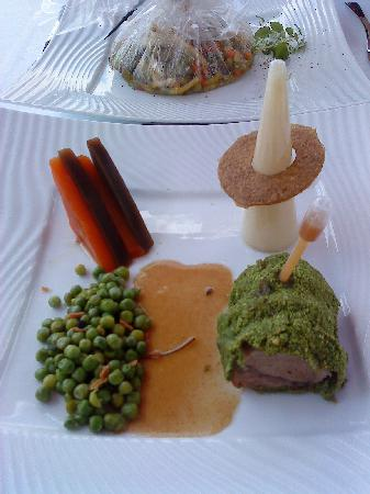 Chasseneuil-du-Poitou, France: Stunning meal at the Cristal restaurant