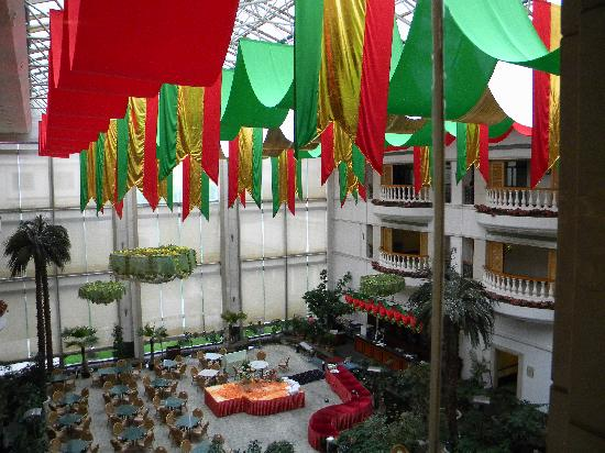 Paradise Resort: Inside view from elevator