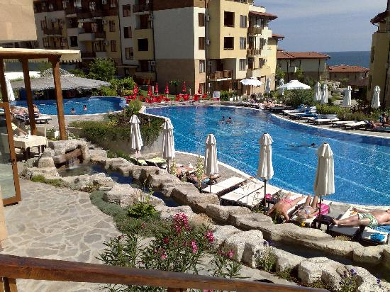 Sveti Vlas, Bulgarie : Main pool 