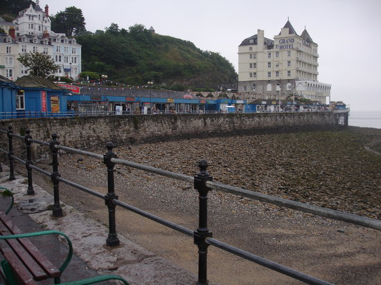 Llandudno, UK: pier
