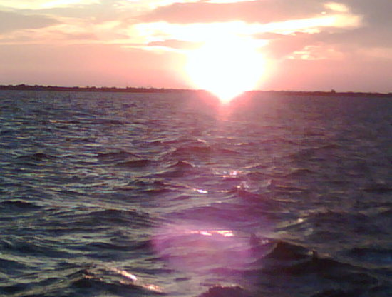  , : Sunset on the Banana River