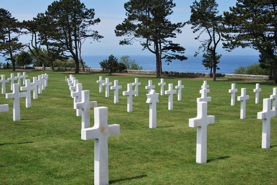 Normandie, France : Normandy Cemetery