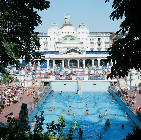 Budapest Gellrt Baths