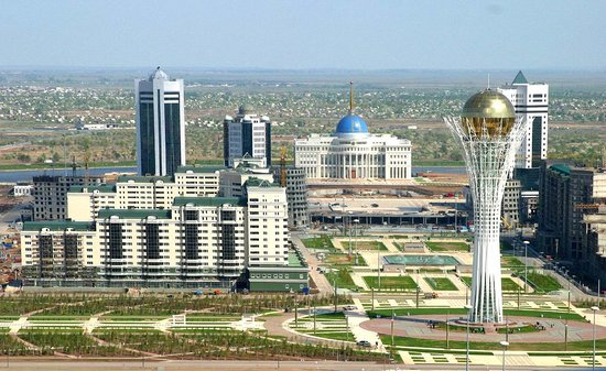 Astana, Kazakhstan : Bayterek 