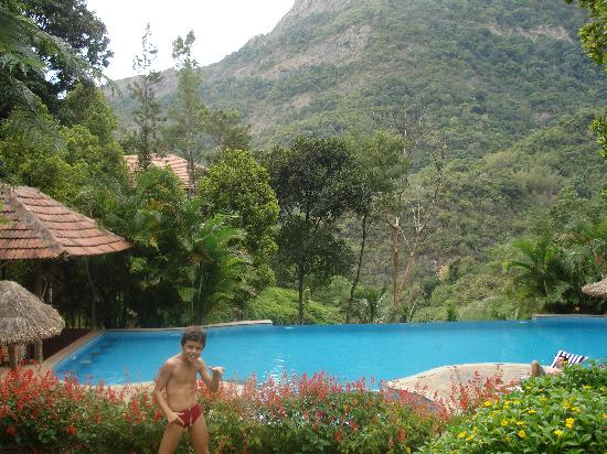 Amazing view from the pool picture of kurumba village - Best hotels in ooty with swimming pool ...