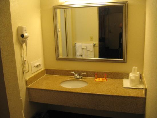 Econo Lodge Parkway / Historic Area: Vanity