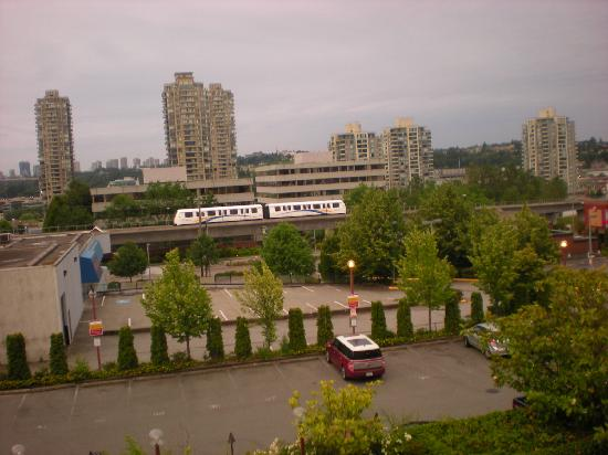 Executive Hotel Burnaby: View of city taken from my room.