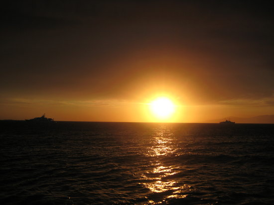 Mykonos, Griechenland: Tramonto