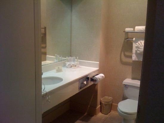Holiday Inn Express San Jose International Arpt: Bathroom - sink area