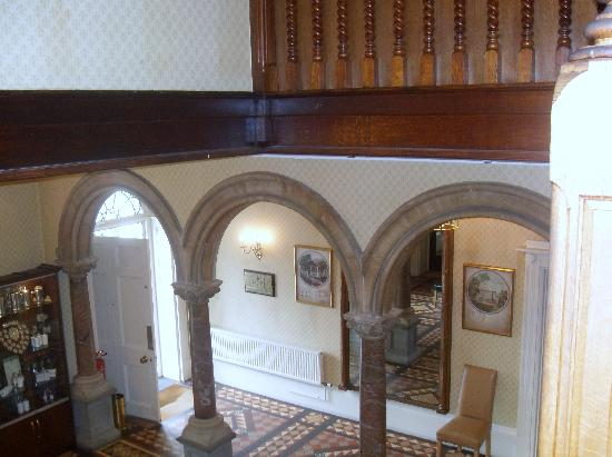 The Chase Hotel: entrance hall