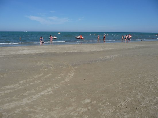 Cervia, Italien: wide beach