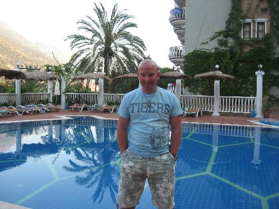 Me By The Turtle Shaped Pool Picture Of Flamingo Hotel Oludeniz Tripadvisor