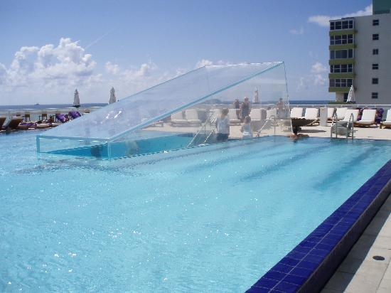 Cool pool picture of w fort lauderdale fort lauderdale for Pool design fort lauderdale