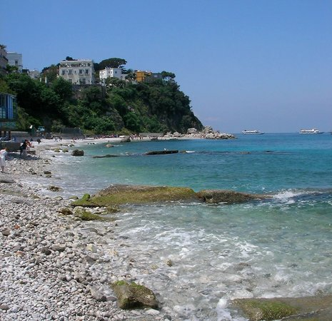 , : Beach at Capri