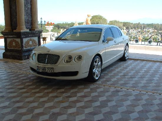 Mardan Palace: Use one of the Limos for the harbour