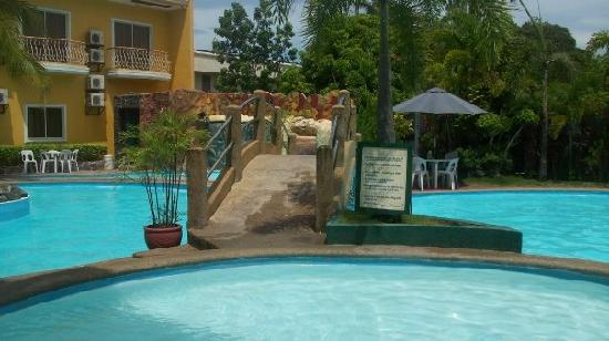 My Daughter Just Loved Swimming In Their Pool Picture Of Seorabeol Grand Leisure Hotel Subic