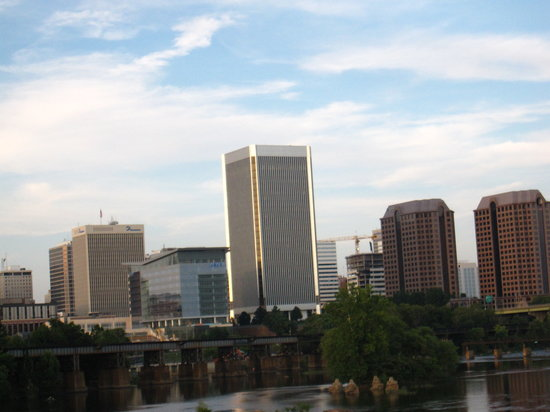 Skyline of Richmond downtown