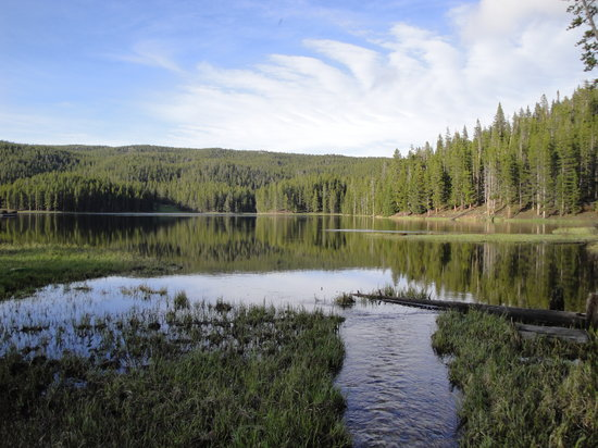 ◊ Far From Any Road Sibley-lake-in-bighorn