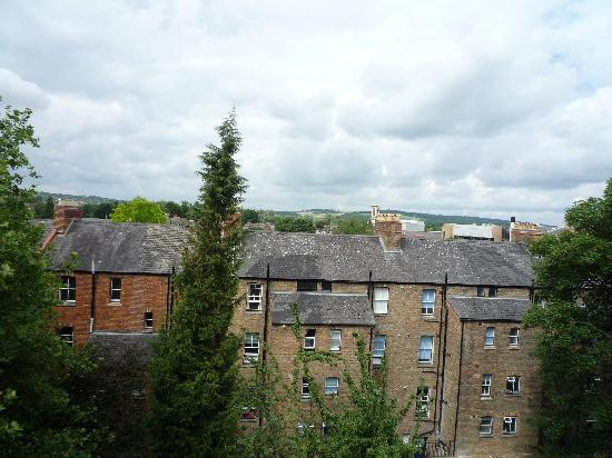 Rewley House: View from window of Room 464, 37 Wellington Square