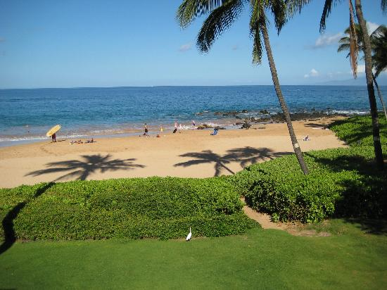 view from balcony picture of days inn maui oceanfront. Black Bedroom Furniture Sets. Home Design Ideas