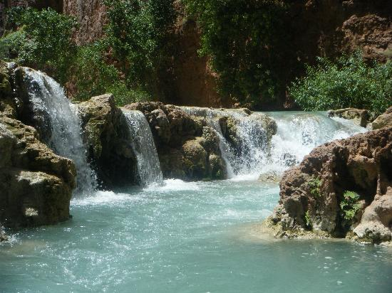 Supai, AZ: Mini falls after Mooney Mooney