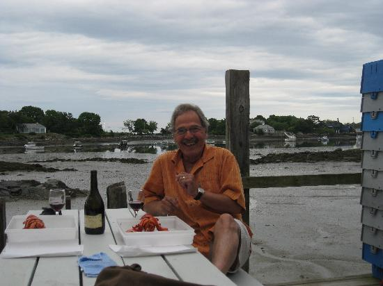 The Cape Porpoise Motel: souper hamard a la poissonnerie cape porpoise
