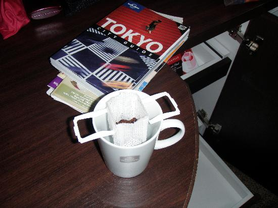weird coffee bag but tastes great! so Japan - Picture of Citadines Central Shinjuku Tokyo ...