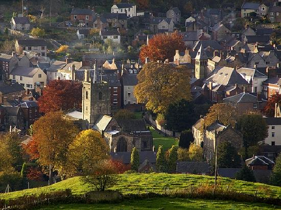 Phil Richard's Autumn - Wirksworth from the Gilkin