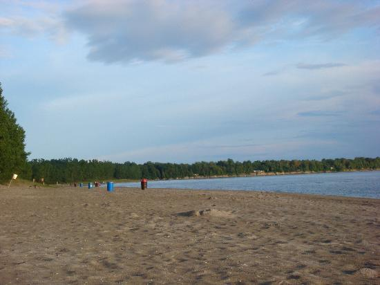 Picton, Kanada: the beach