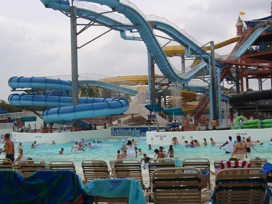 Coolest wave pool / lazy wave river