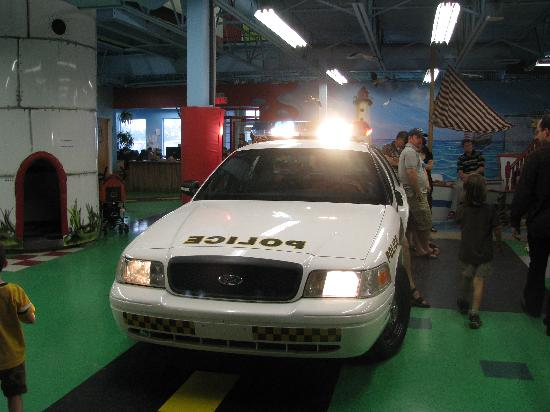 Laval, Canad: Police car