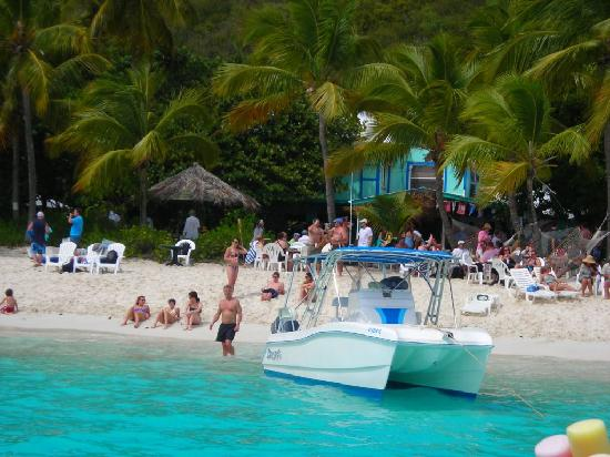 at the Soggy Dollar Bar. Don't just stick to Trunk Bay.