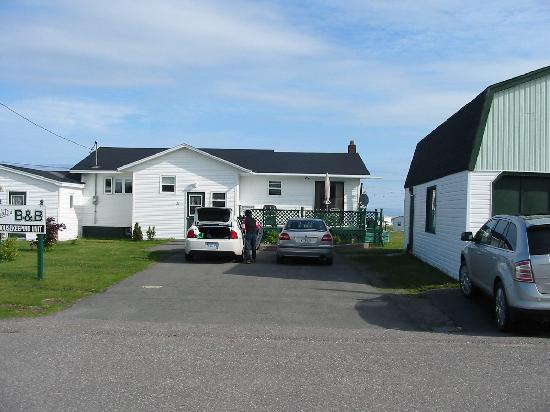 Bonavista, Canada : front of the house