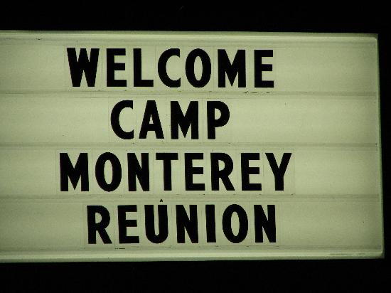 Super 8 Monterey: our welcome sign