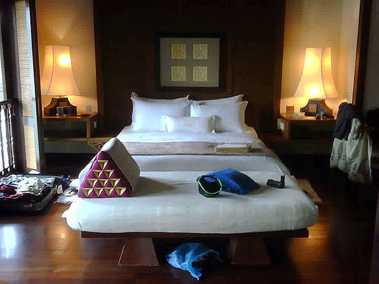 Pangkor, Malaysia: My Bed