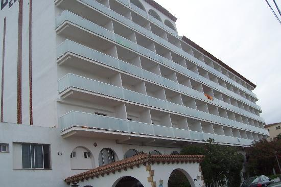Europe San Salvador Hotel : extrieur de face 