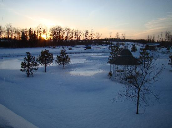 Timmins, Canada: View from Window