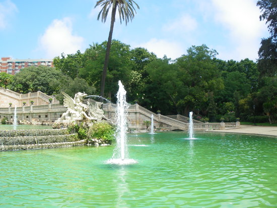 Barcelona, Spanien: Parc de la ciutadella
